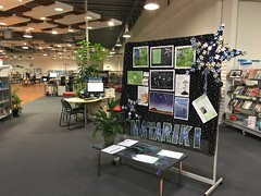 Matariki display, Linwood Library