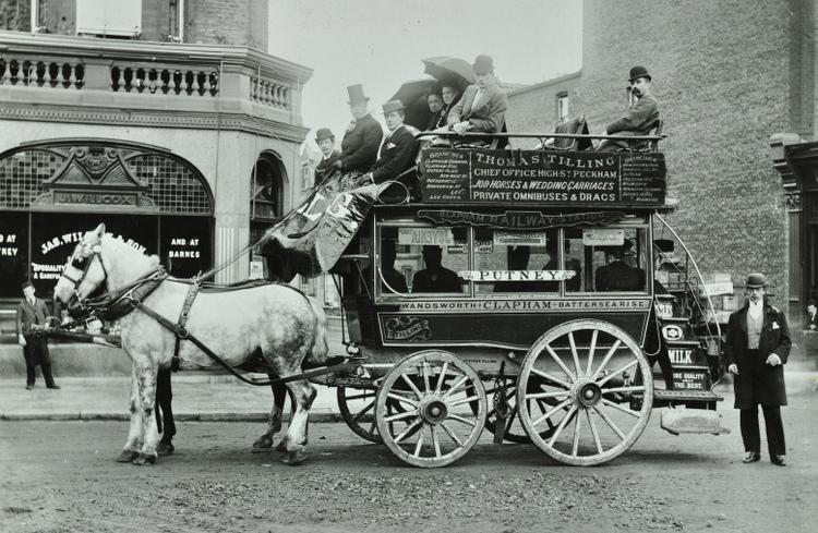 London horse-bus