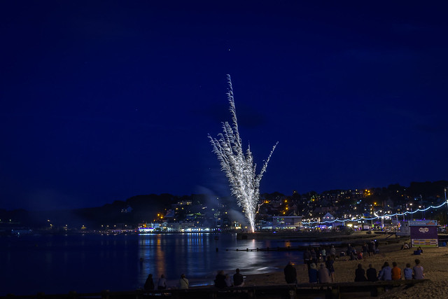 Swanage Carnival Fireworks 01-08-2018 09