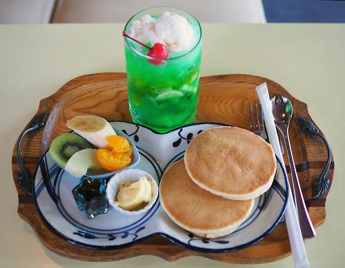 児島・サンレモンホットケーキ