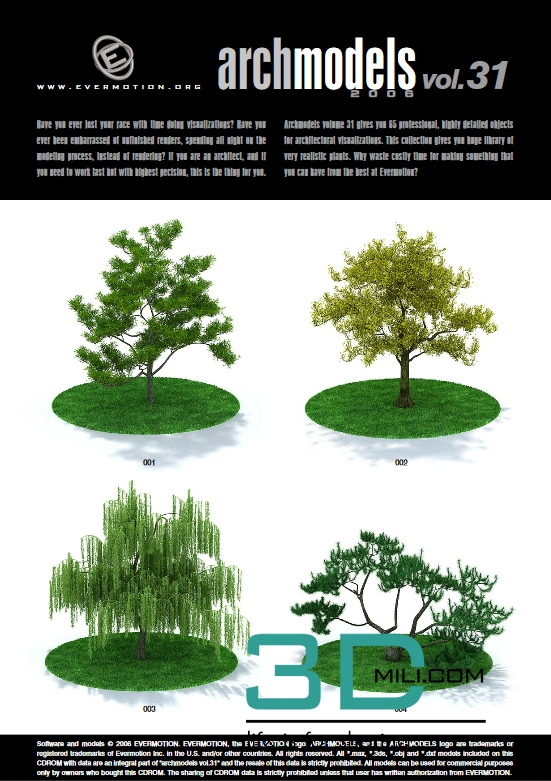✨ Evermotion archmodels trees free download | Archmodels