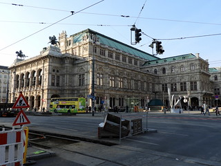 Image of Vienna State Opera. vienna wien theatre