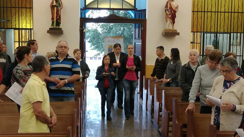 Chegada do Ícone do Laicato na Paróquia São Pedro Apóstolo