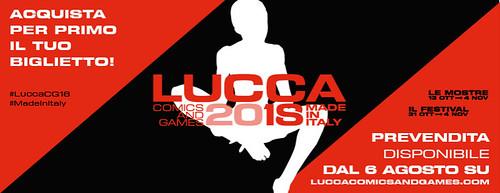 Lucca Comics e Games 2018