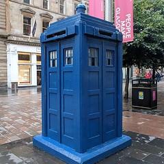 TARDIS in Glasgow