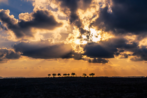 landscape sunset sky sunbeams ramatmenashe northdistrict israel il