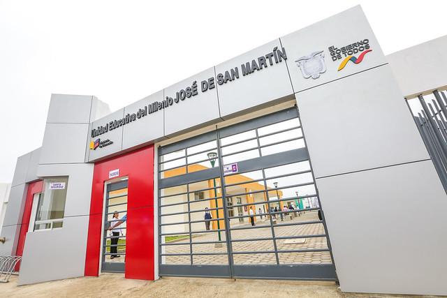Inauguración de la Unidad Educativa José de San Martín e Inclusión de las TIC en el Sistema Educativo en el marco de la Agenda Educativa Digital