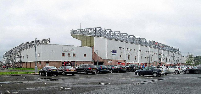 Broadwood Stadium, Cumbernauld, Main and South Stands