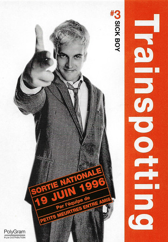 Johnny Lee Miller in Trainspotting (1996)