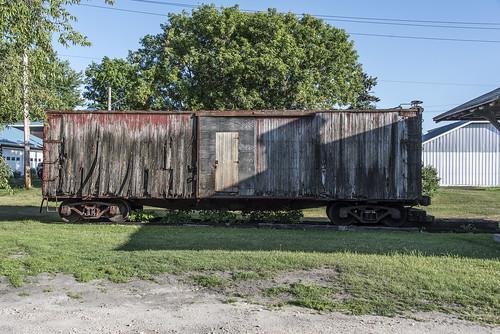 chateaugay newyork chateaugaynewyork rutland rutlandrailway boxcar