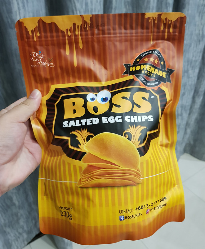 the boss salted egg chips front