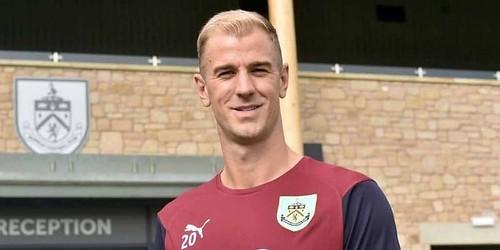 Hart bergabung dengan Burnley dari Man City