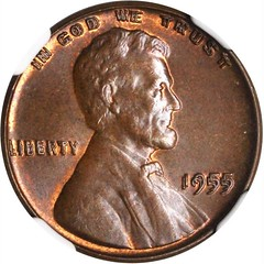 1955 Lincoln Cent Obverse