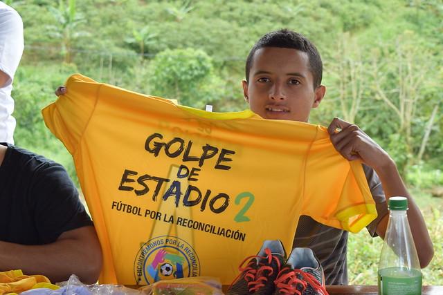 Fútbol y Reconciliación en Llanogrande, Dabeiba - Antioquia. Junio 18 Y 19/2018.