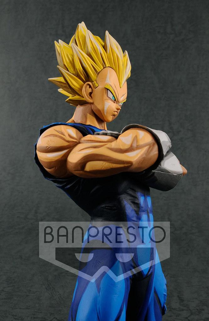DRAGON BALL Grandista Super Saiyan Vegeta Manga Dimensions Pvc Figure Banpresto