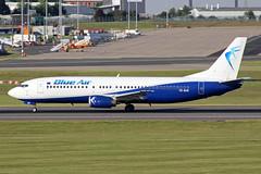 Blue Air Boeing 737-46N YR-BAE BHX 21/06/18