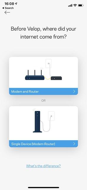 Linksys iOS App - Setup - #3