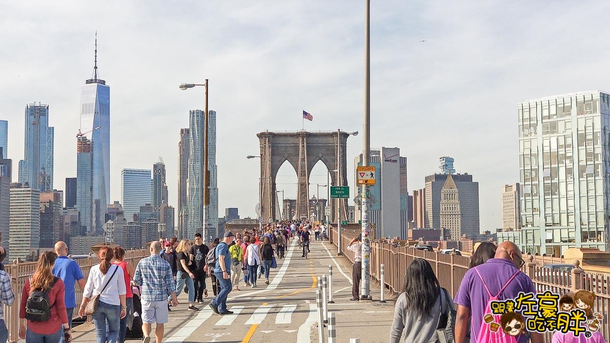 美國紐約-布魯克林大橋-41