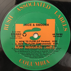 NICE & SMOOTH:HOW TO FLOW(LABEL SIDE-A)
