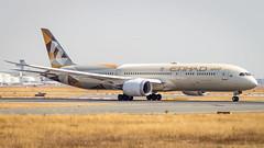 Boeing 787-9 Dreamliner A6-BLK Etihad Airways