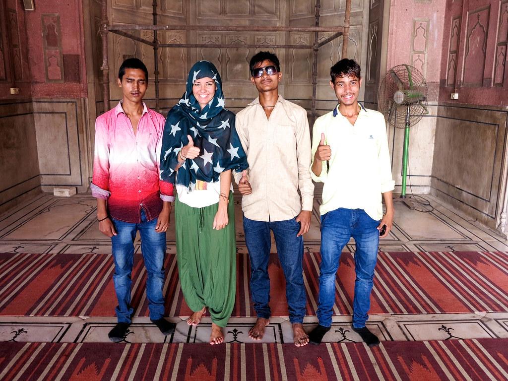 Visitas en Nueva Delhi