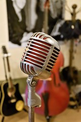 The Microphone Elvis, Johnny Cash, Jerry Lee Lewis and Roy Orbison Used at Sun Studio