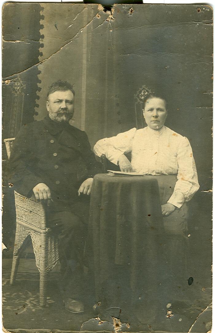 Иван Федорович и Любовь Ивановна Черепенины.