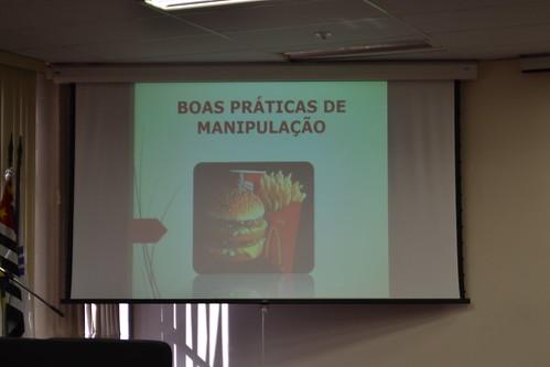 Cooperativa de Panificação e Doces do programa Gente É Pra Brilhar palestra sobre Boas Práticas e Manipulação de Alimentos - Projeto de Extensão