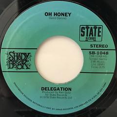 DELEGATION:OH HONEY(LABEL SIDE-A)