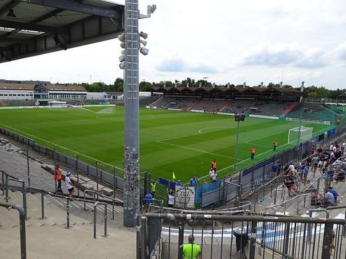 SpVgg Unterhaching 2:1 F.C. Hansa Rostock