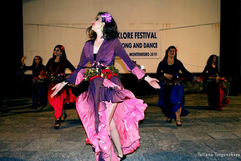 Выступление фольклорной группы Бурсы на Форте Маре