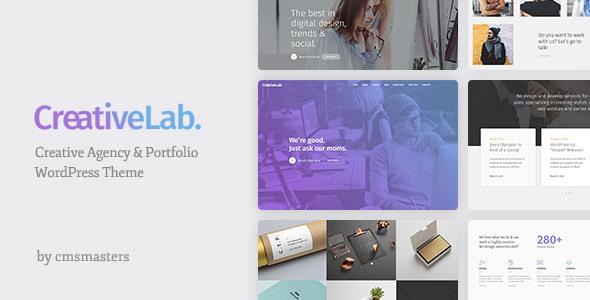 Creative Lab v1.0.7 – Creative Studio Portfolio & Agency