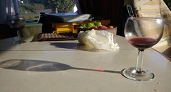 France, Brittany - wine in the van