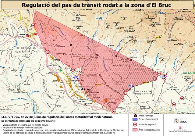 Parkings Montserrat Sur -00- Plano Zona Regulada y Ubicación Parkings -01