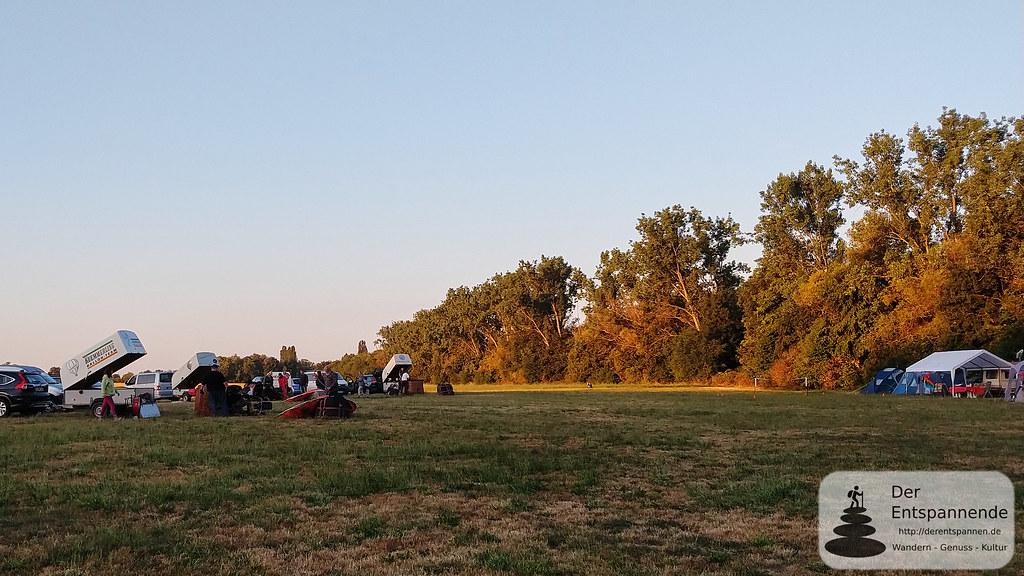 Sommercamp der Ballonfahrer in Selzen an der Selz