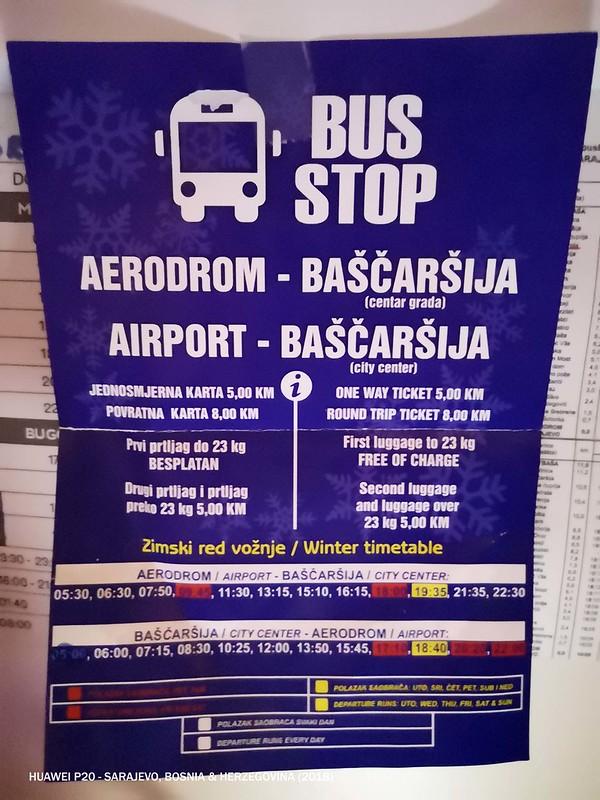 2018 Bosnia Airport - Bašcaršija