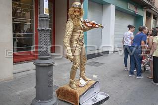 XVII Concurso Internacional de Estatuas Humanas. 16/08/2018