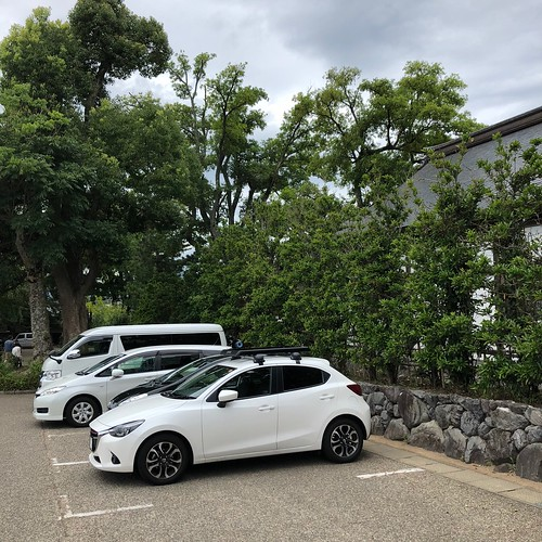 元伊勢籠神社(駐車場)