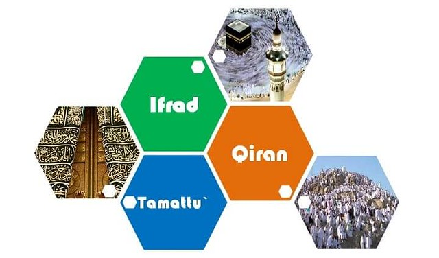 3658 What are the types of Hajj and what is the difference between them 01