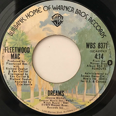 FLEETWOOD MAC:DREAMS(LABEL SIDE-A)