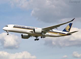 F-WZHE Airbus A350 Singapore