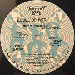 HOUSE OF PAIN:JUMP AROUND(LABEL SIDE-A)