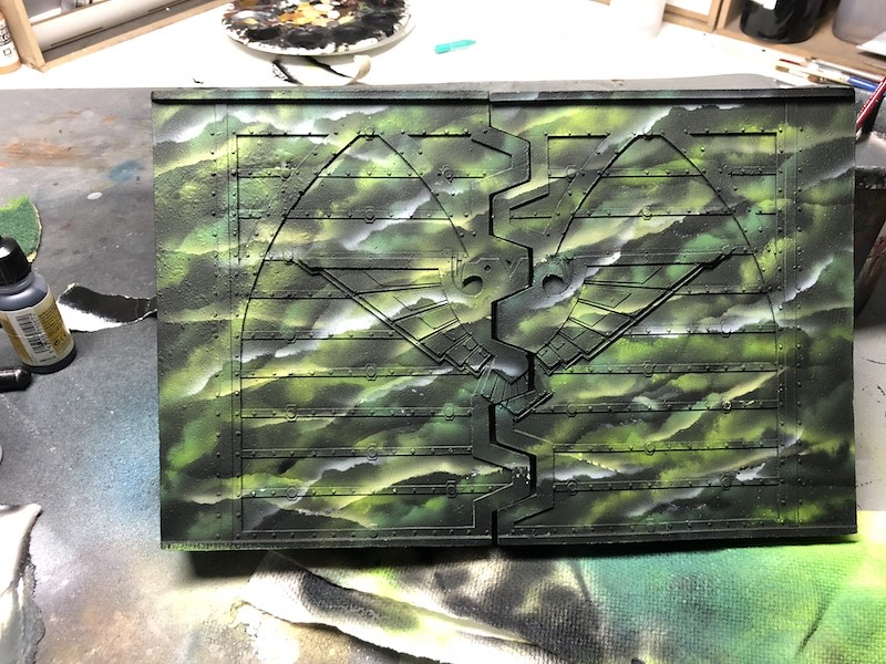 Medal of Colors Imperial Fortress Forge World painting-22
