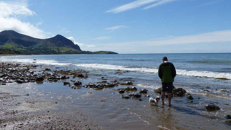 This is a picture of Aberafon Beach