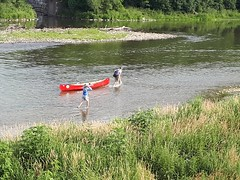 Canoeing the Grand River