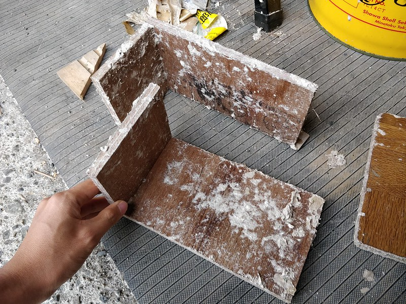 ダンボールブロックの制作 (3)