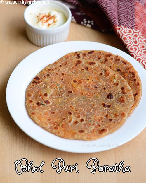 bhel-puri-parantha