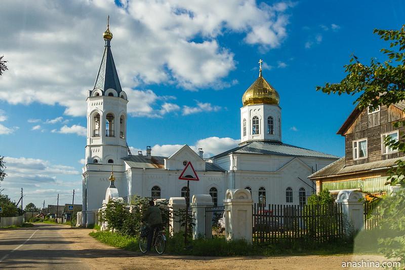 Церковь Спаса Преображения в селе Леонтьево, Тверская область