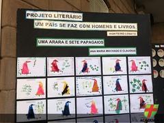 Educação Infantil e 1º ano EFI expõem trabalhos do Projeto Literário do 2º trimestre