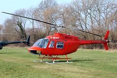 G-BEWY Bell 206B Jet Ranger II [348] (Polo Aviation Ltd) Cheltenham Ra